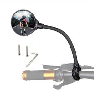 Drckhros Adjustable and Rotatable Bicycle Mirror