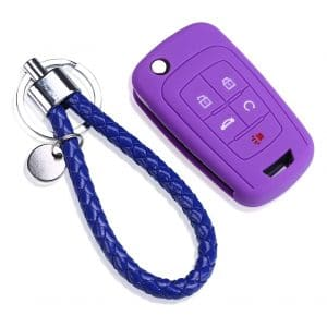 Puou 5 Buttons Smart Car Key Cover