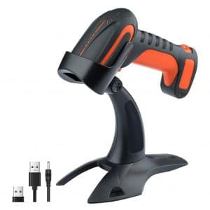 Tera Industrial 1D 2D Wireless Barcode Scanners for Windows, Android, and Mac