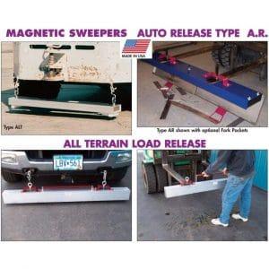 AMK Load Release Roadmag Magnetic Sweeper
