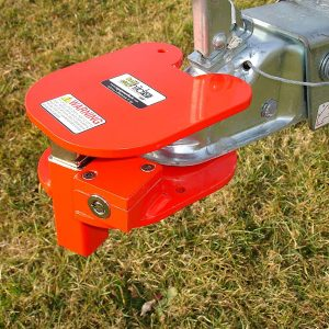 InSite Equipment Lock Electro-plated BRHL Steel Ring and Hitch Lock