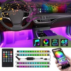 Ct Capetronix 48 LEDs Interior Car Lights