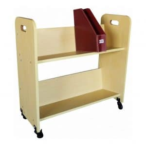 FixtureDisplays Book Cart