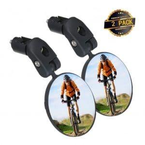Sgodde Handlebar Mounted Bicycle Rearview Mirror