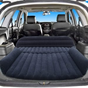 Sibosen Portable Inflatable Car Bed for Universal Car SUV