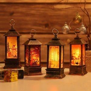 JEDAWN Decorative Christmas Lanterns