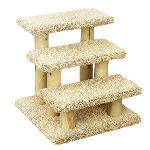 New Cat Condos 110223 Wooden Pet Stairs