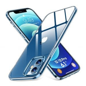 Humixx Clear Protective Cover Compatible with iPhone 12 Pro Case/iPhone 12 Case