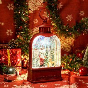CaiFang Snow Globe Christmas Lantern
