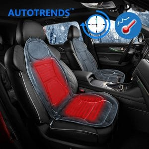 The AUTOTRENDS SJ115R054 Heated Car Seat Cover