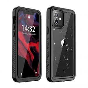 Huakay for iPhone 12 Shockproof Dirt proof Waterproof Full Body Protection Case