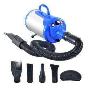 SHELANDY Grooming Blower Adjustable Speed 3.2HP Stepless Pet Hair Dryer