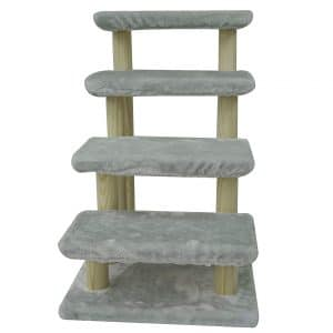Cowboy 4-Step Wooden Pet Stairs