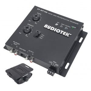Audiotek AT-AP100 Audio Car Digital Bass Restoration Processor