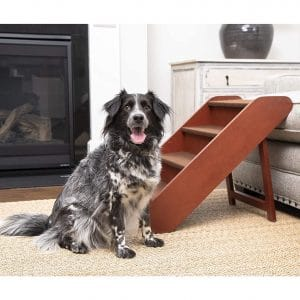 The PetSafe Wood Pet Stairs