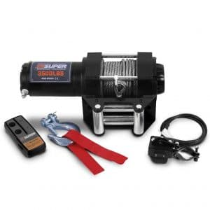 ZESUPER 12V DC Electric ATV Winch