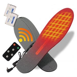 sticro Heated Insoles 4 Heating Settings Electric Rechargeable Insoles