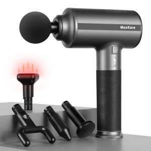 MaxKare Heated Massage Percussion Gun
