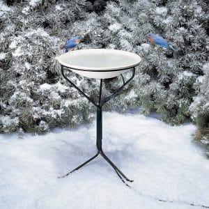 API Heated Birdbath with Stand