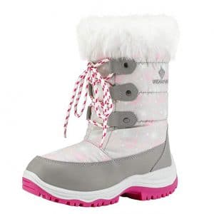 DREAM PAIRS Kids Snow Boots