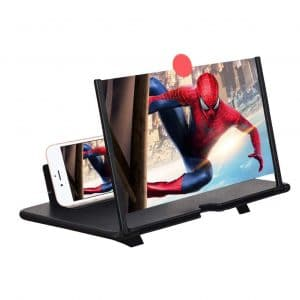 Fanlory 12 Inches Screen Magnifier 3D Projector Screen