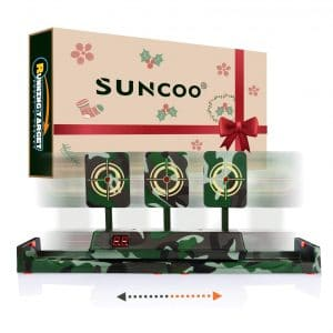 SUNCOO Electronic Shooting Targets for Boys and Girls
