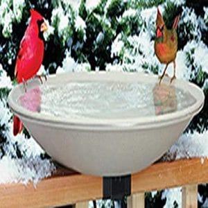 Allied Precision Industries Heated Bird Bath 20 Inches Diameter