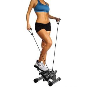 BalanceFrom Adjustable Stepper Machine with Resistance Bands