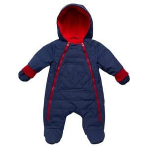 Urban Republic Quilted Baby Snowsuit with Mittens