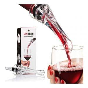 VINABON Wine Aerator Pourer and Wine Pourer Spout