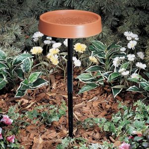 Allied Precision Industries Bird Bath with Stand