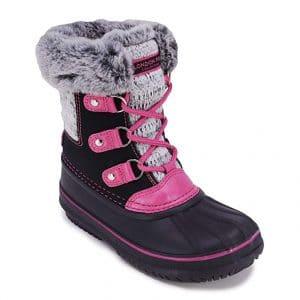 LONDON FOG Girls Snow Boot