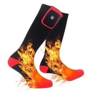 SAVIOR HEAT Electric Heated Socks for Men and Women