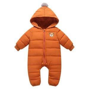 AceAcr Hooded Unisex Baby Snowsuit
