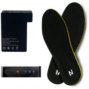 Aroma Season Men and Women Rechargeable Heated Insoles for Skiing Hiking