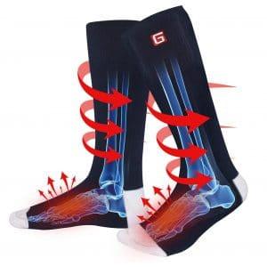 HEAT WARMER Electric Heated Socks - Unisex