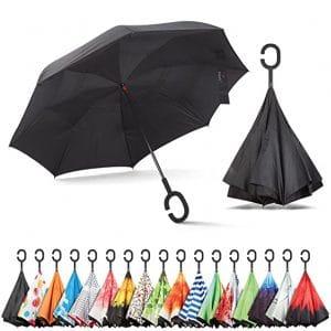 Sharpty Inverted Windproof Reverse Umbrella