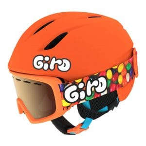 The Giro Launch CP Kids Ski Helmet and goggles Combo