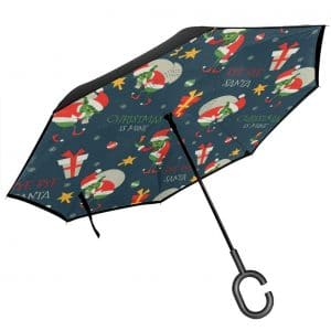FEAIYEA Double Layer Inverted Umbrella