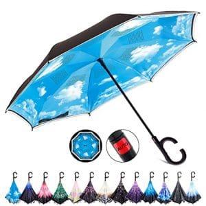 HOSA Auto Open Reverse Inverted Umbrella