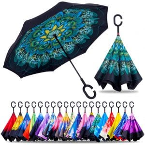 ZOTIA Double Layer Reverse Umbrella
