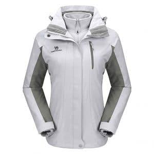CAMEL CROWN Waterproof Women's Ski Jacket for Snow