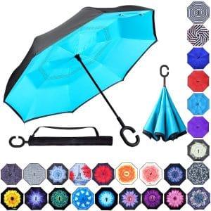 Zameka Double Layer Inverted Umbrellas